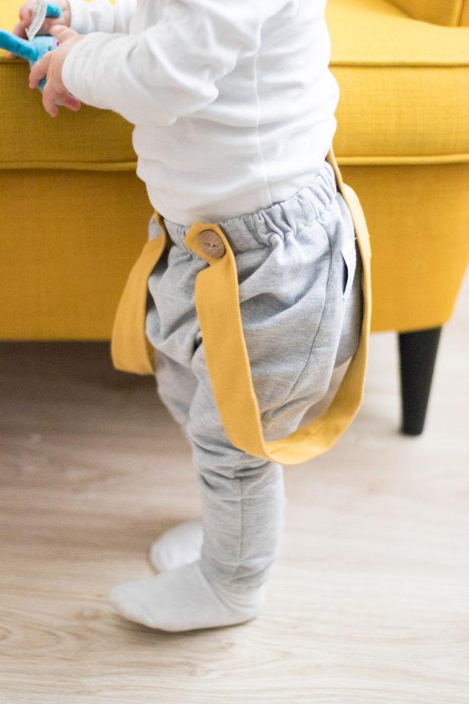 spodnie baggy dziecko