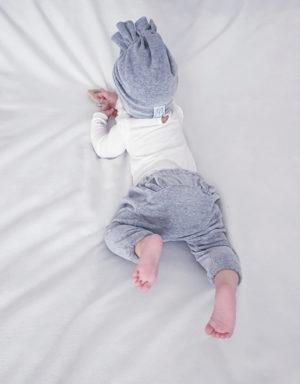 spodnie welur niemowlak
