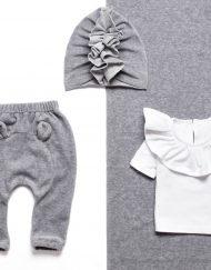 ubranka niemowlęce z weluru
