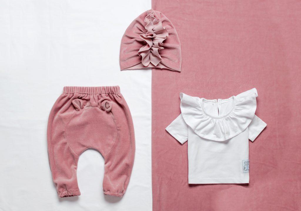 ubranka dla dzieci z weluru