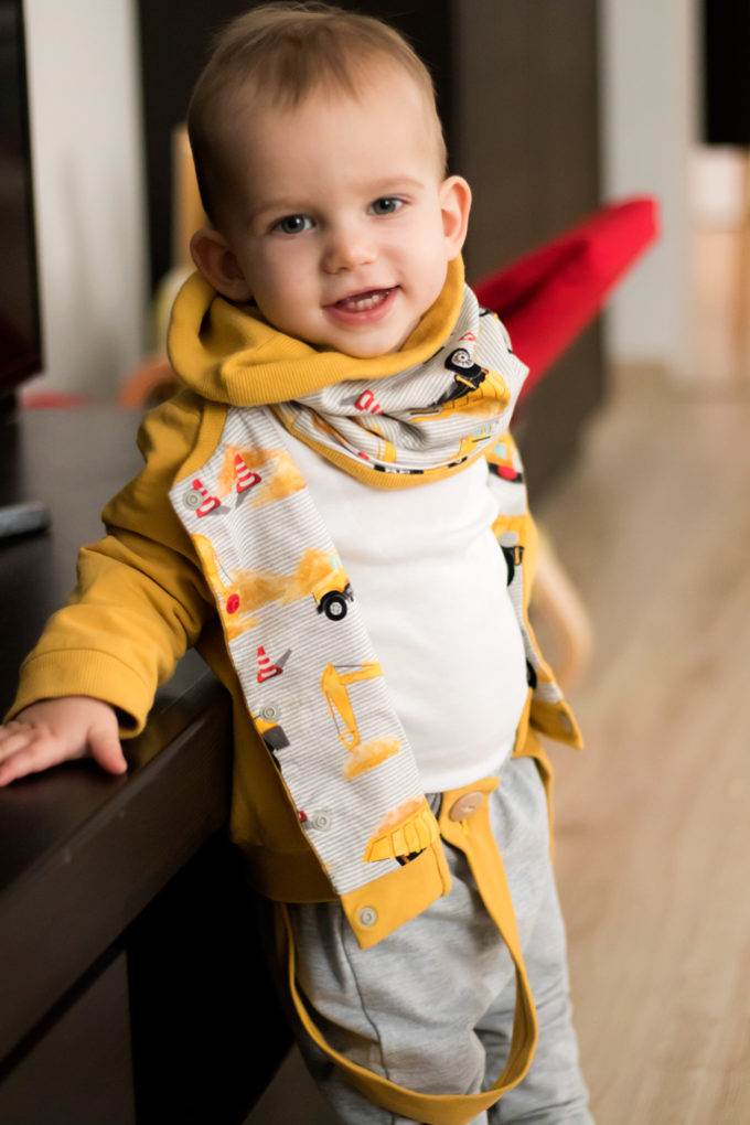 dwustronna bluza chłopiec