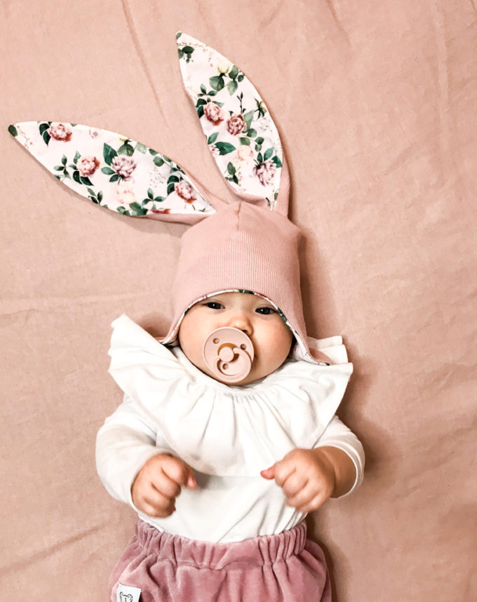 czapka dla niemowlaka