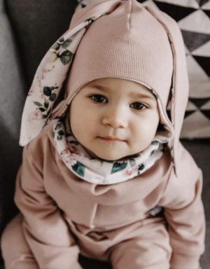 czapka dziecięca z uszami
