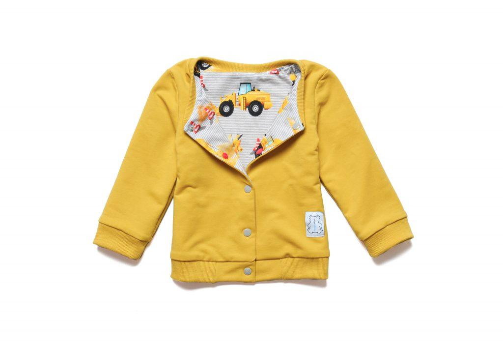 dwustronna bluza niemowlęca