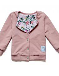 dwustronna bluza dla dziewczynki