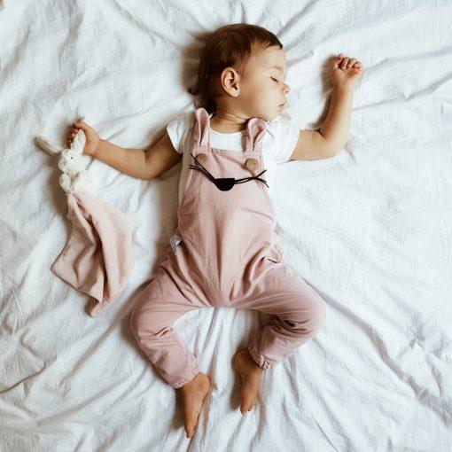 ogrodniczki niemowlęce dziewczynka