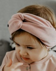 Opaska turban dla niemowlaka