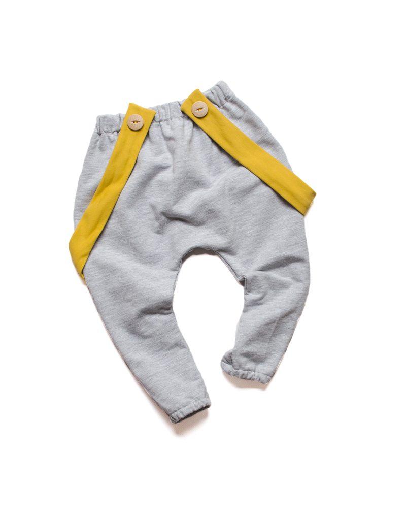 spodnie szare dla dziecka