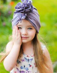 CZAPKA dla dziewczynki turban