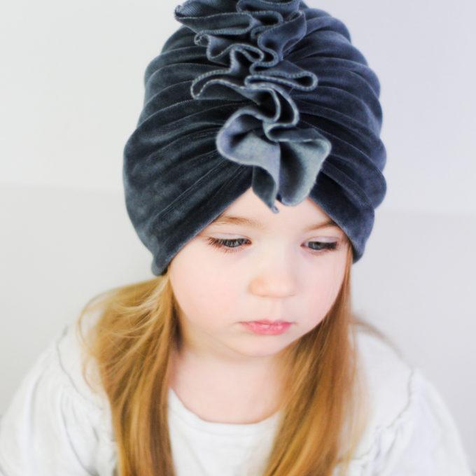 Turban dla dziewczynki