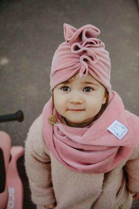 turban dzieciecy