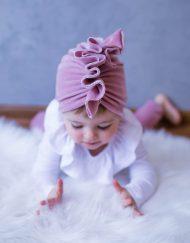 turban dla niemowlaka