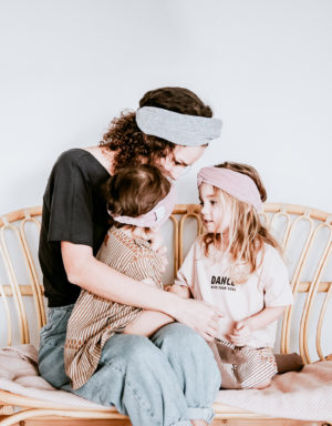 opaska turban mama córka