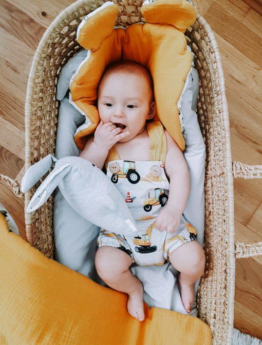 Letnie ubranka dla niemowląt