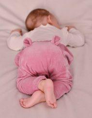 baggy niemowlece z uszkami