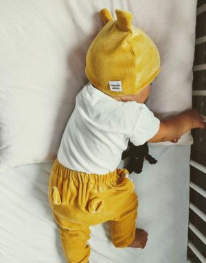 czapeczki niemowlęce
