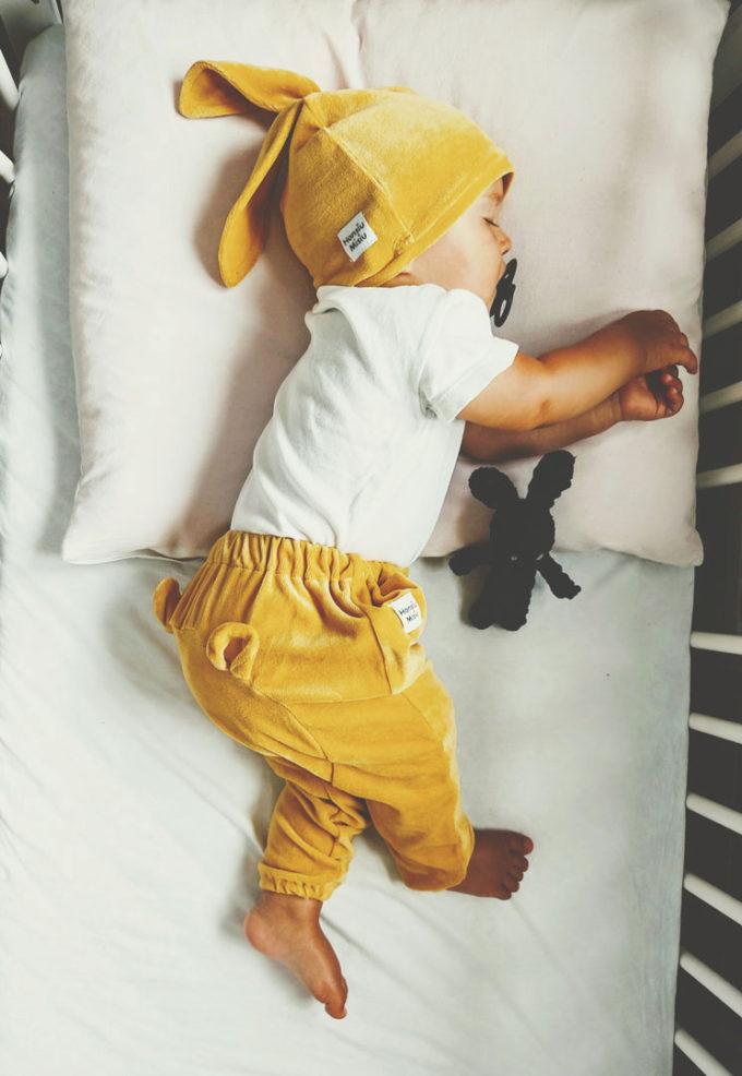 spodnie dla niemowląt