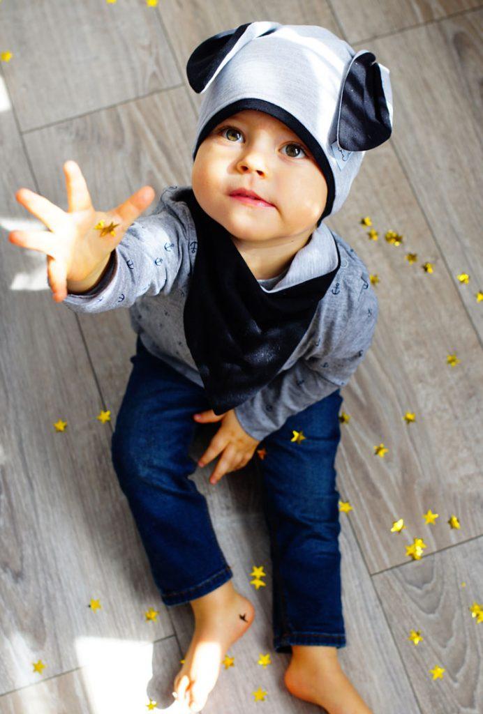 czapki z uszami dziecięce