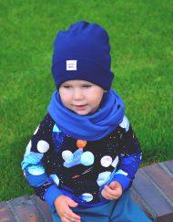 Czapka i komin zimowy dla chłopca