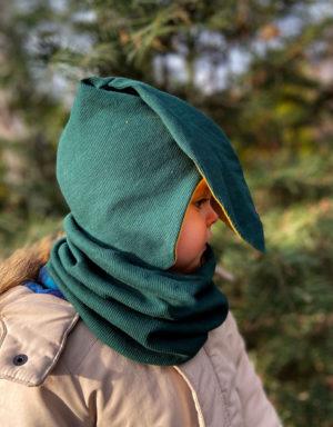 czapki z długimi uszami dla dzieci