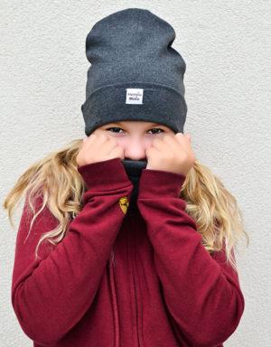 czapka dziecieca proążkowana