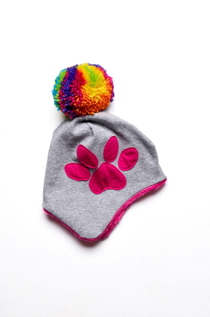 czapka zimowa dla niemowlaka