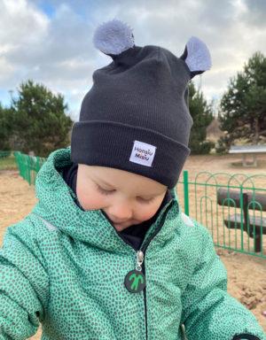 Czapki i kominy dla dzieci na zimę