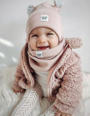 Czapki dla dziewczynek na zimę