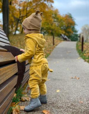 welurowe spodnie dziecięce