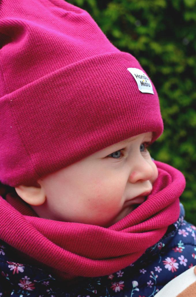 czapka niemowlęca