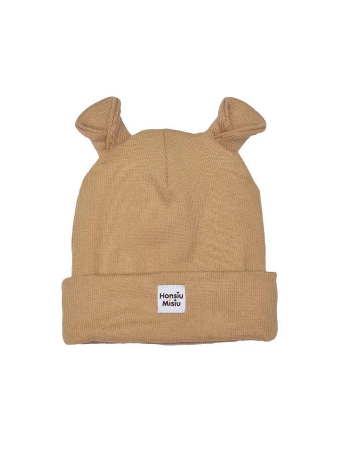czapka wiosenne z uszami dla dziecka