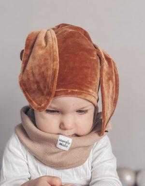 czapki welurowe dla dzieci