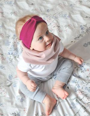 legginsy prążkowane dziecko