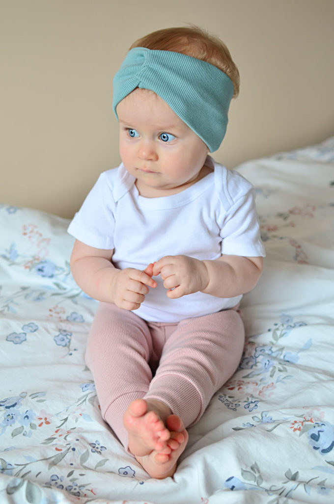 legginsy prążkowane dla dzieci