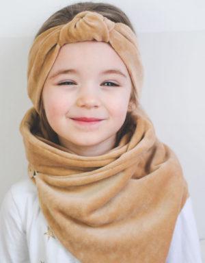 opaska welurowa dla dzieci