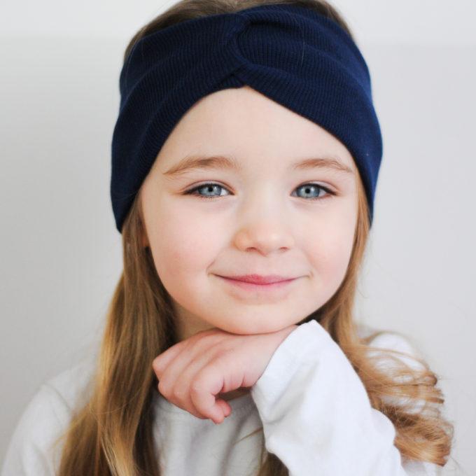 opaska prązkowana dla dziewczynki