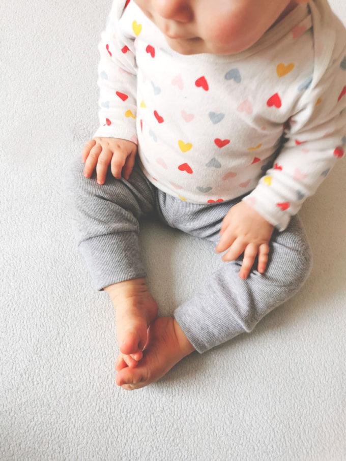 spodnie prążkowane dziecięce
