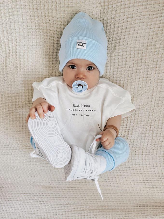 czapka beanie dla niemowlaka