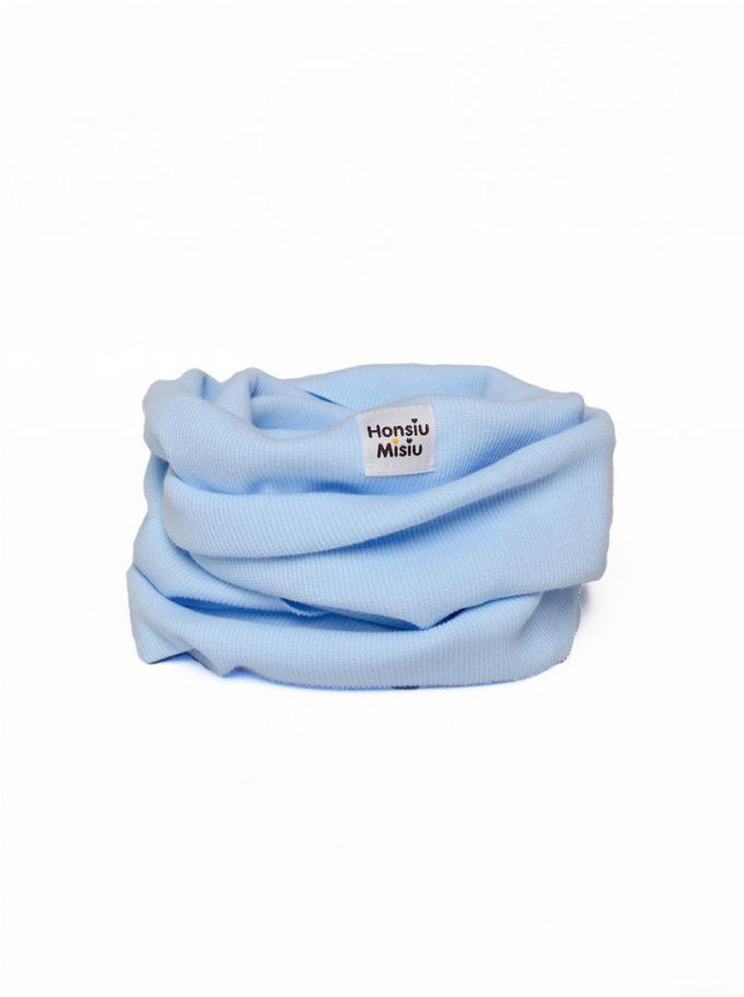 szalik komin dla dziecka baby blue