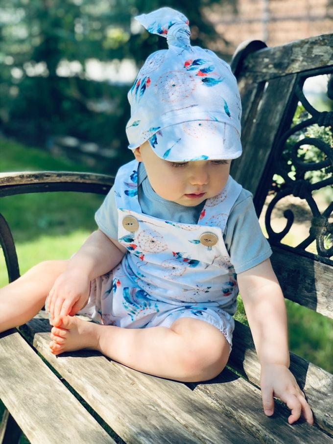 ogrodniczki lato niemowlęce