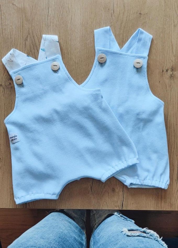 ubranka dla niemowląt baby blue