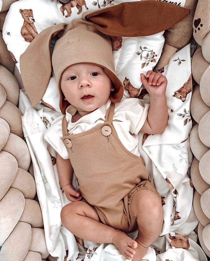 czapki niemowlęce z uszami