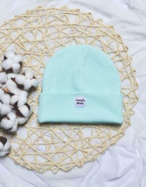 czapka na jesień niemowlęca