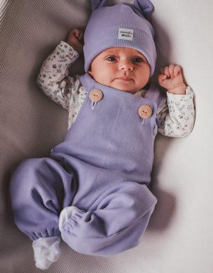 ubranka niemowlęce prążkowane