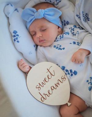 Opaska niemowlęca szeroka