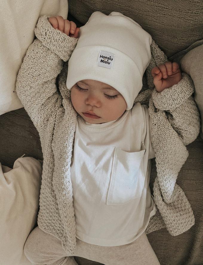 czapki dla niemowląt