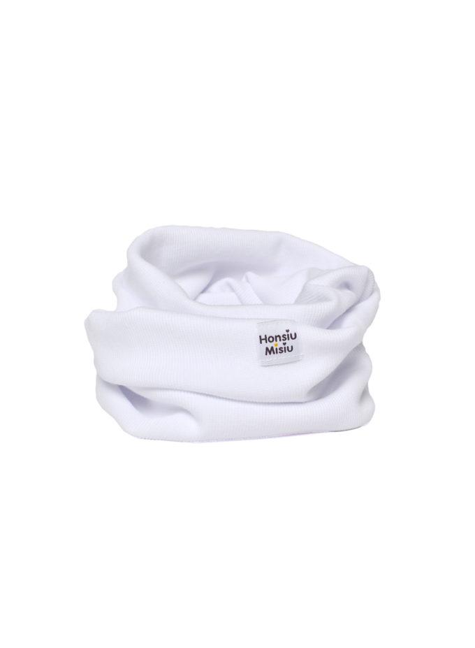 szalik dla dziecka komin biały