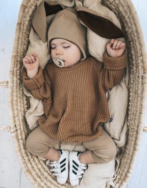 Czapka z uszami dla chłopca
